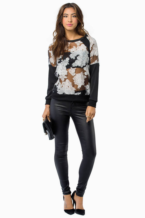 Avery Floral Top