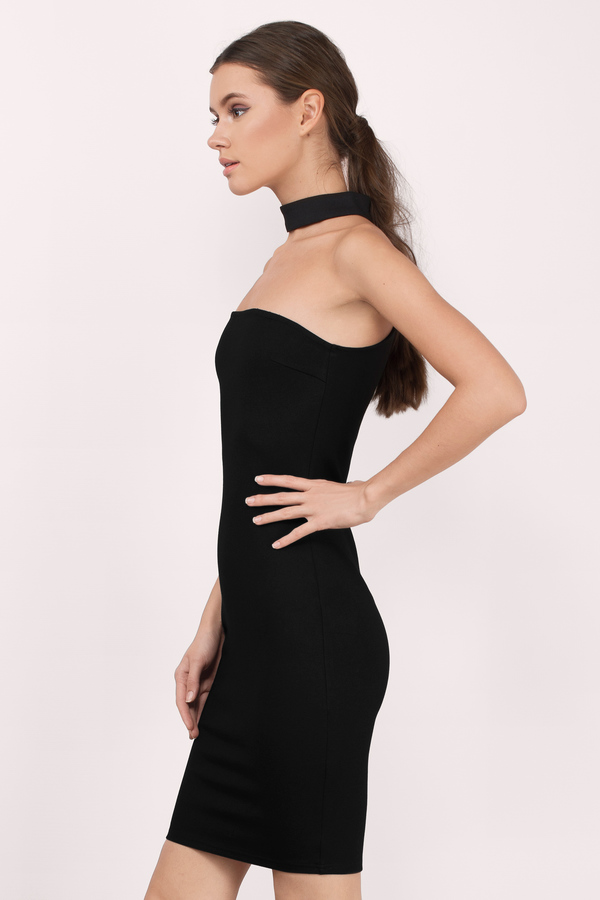 Black Strapless Dresses | Tobi