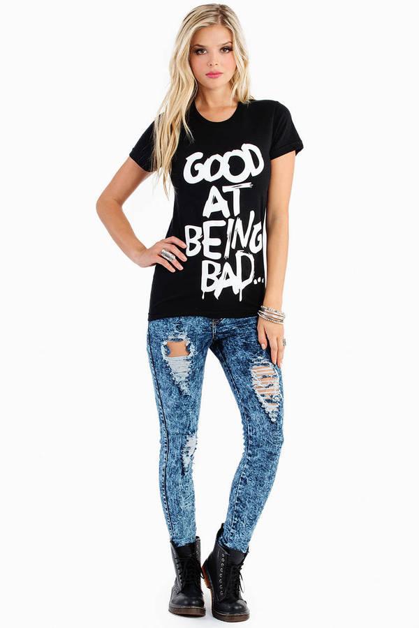 Hellz Bellz Being Bad T Shirt