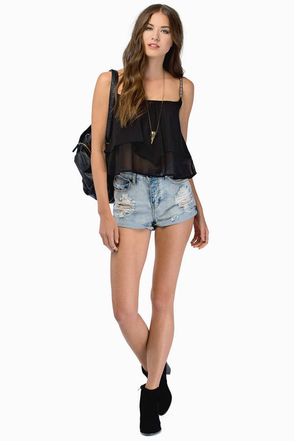 Blake Tiered Top