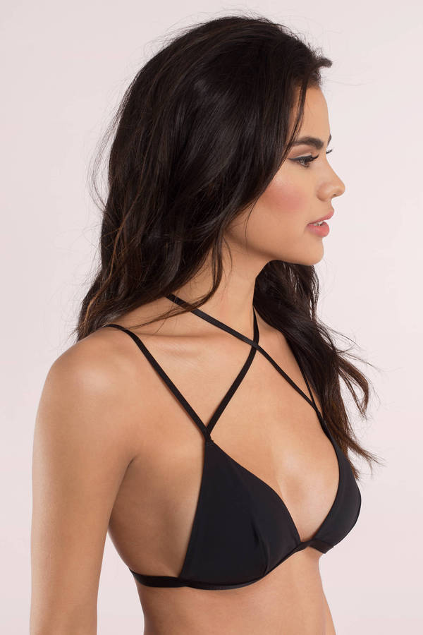 64ca5d3c97 Sexy Black Intimates - Choker Intimates - Bikini Bralette - Black ...
