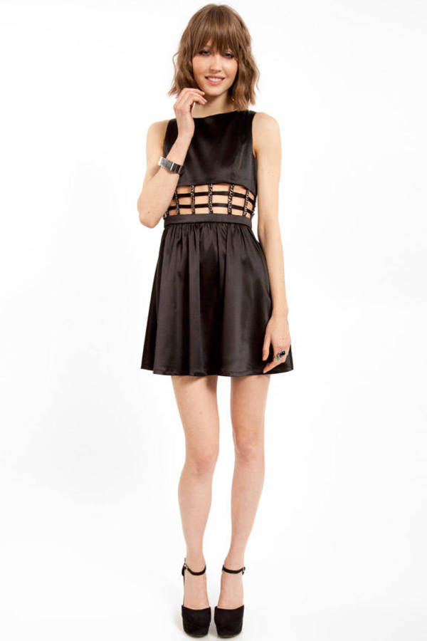 Caged Cutout Dress