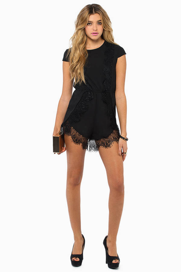 Wilde Heart Can't Leave You Romper