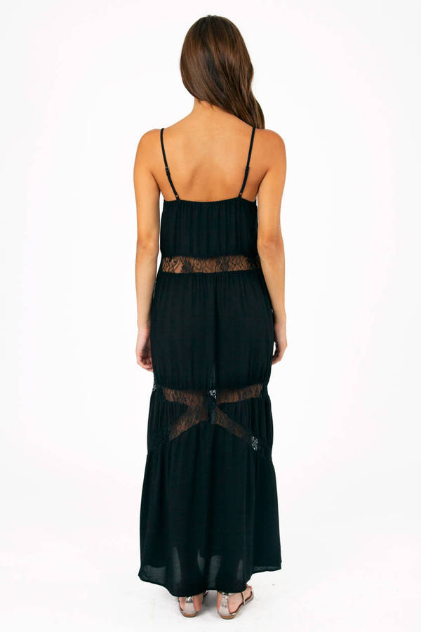 Captivating Lace Maxi Dress