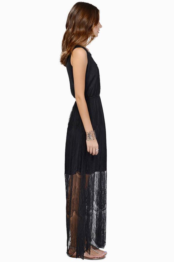 Christine Maxi Lace Dress