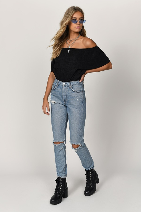 b5a94cd0261d7 ... Tobi Off The Shoulder Tops
