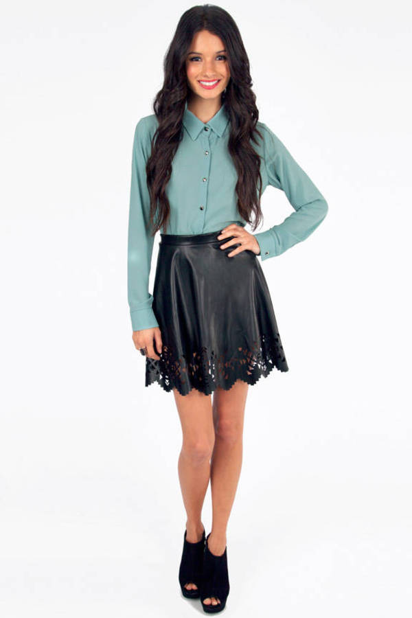 Cut It Out Skater Skirt