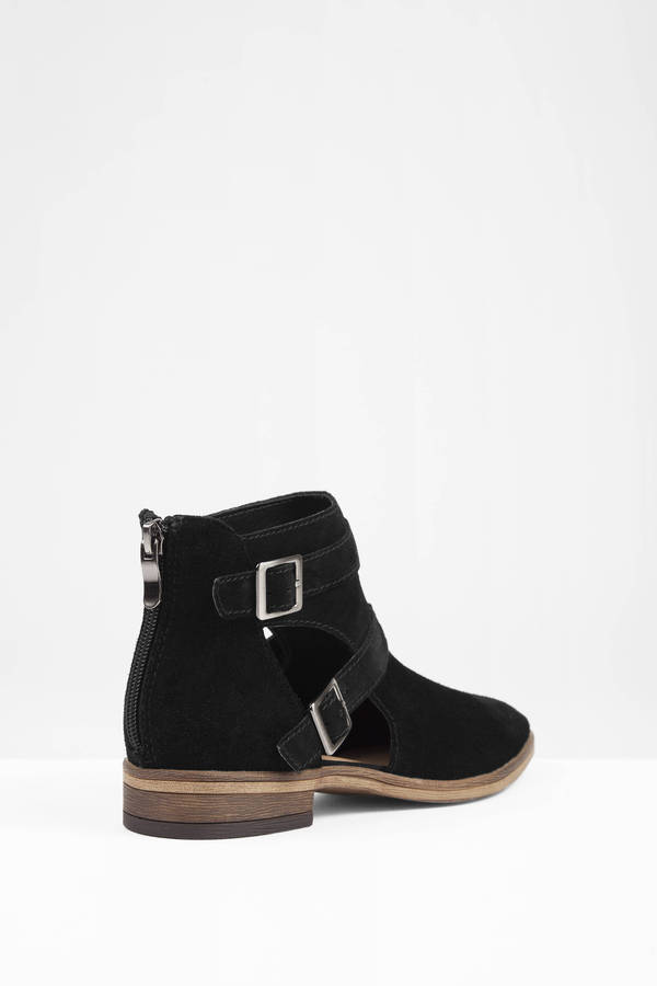 Black Boots - Black Boots - Bootie Boots - $100.00