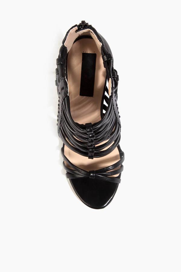 Heart Soul Darielle Strappy Heels