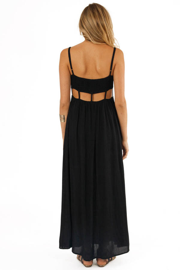 Disconnected Maxi Dress