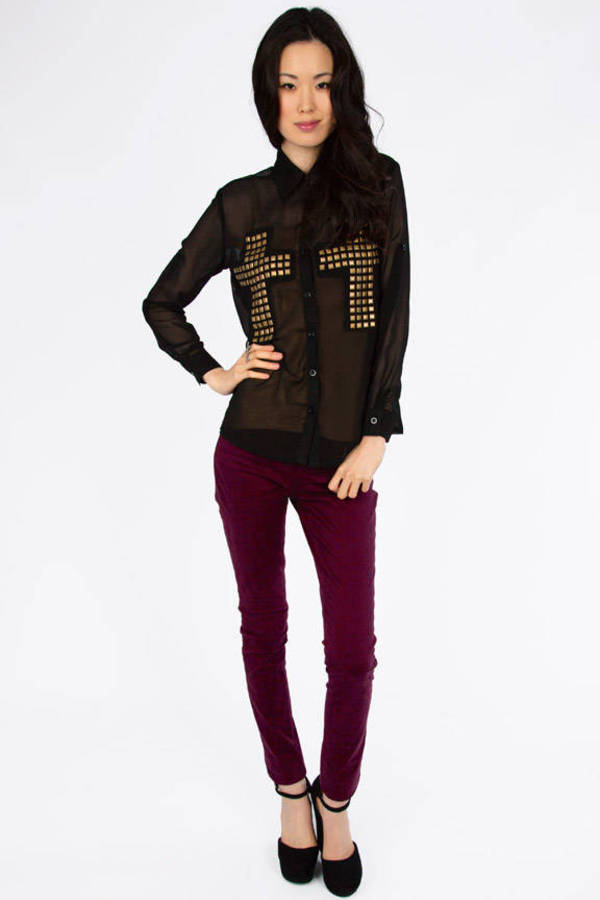 Double Cross Blouse