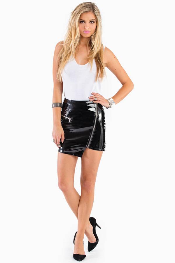 Empty Gravity Mini Skirt