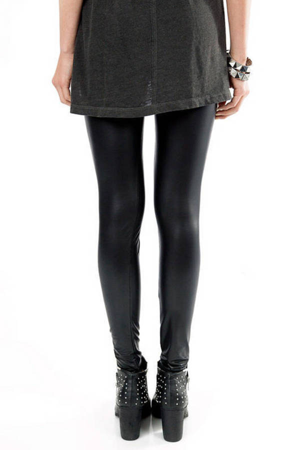 Faux Harem High Waisted Leggings