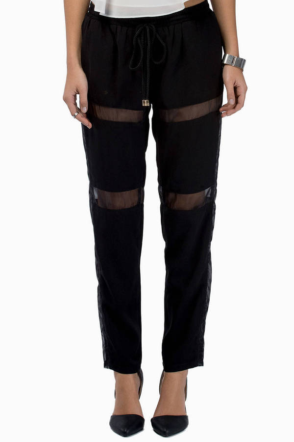 Flash Back Mesh Pants