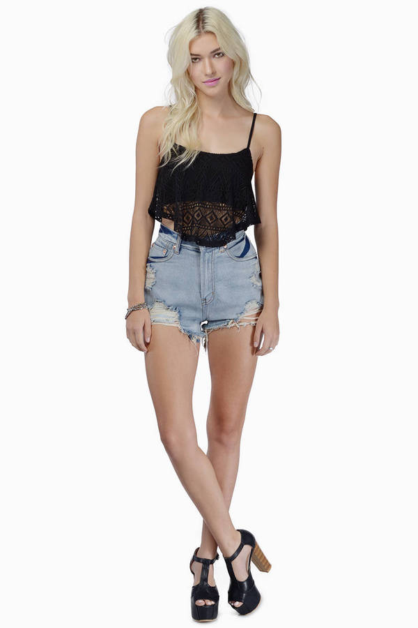 Flit And Fly Crop Top