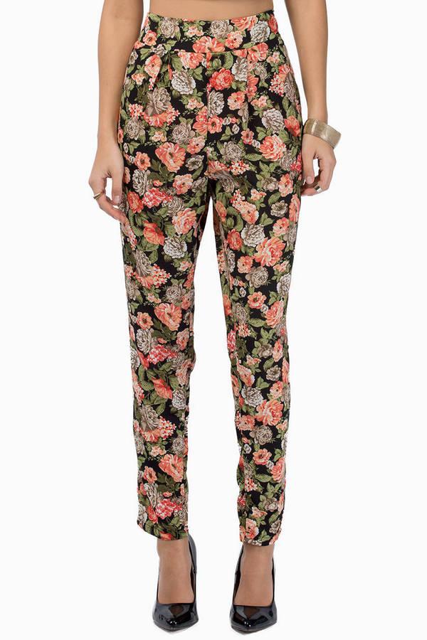 Kayla Floral Pants