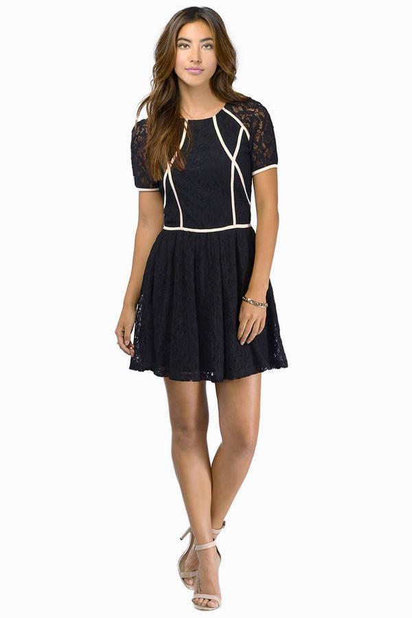 Follow The Lines Dress