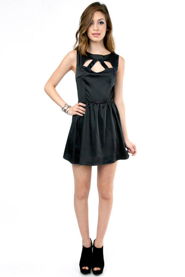 Georgina Cutout Skater Dress