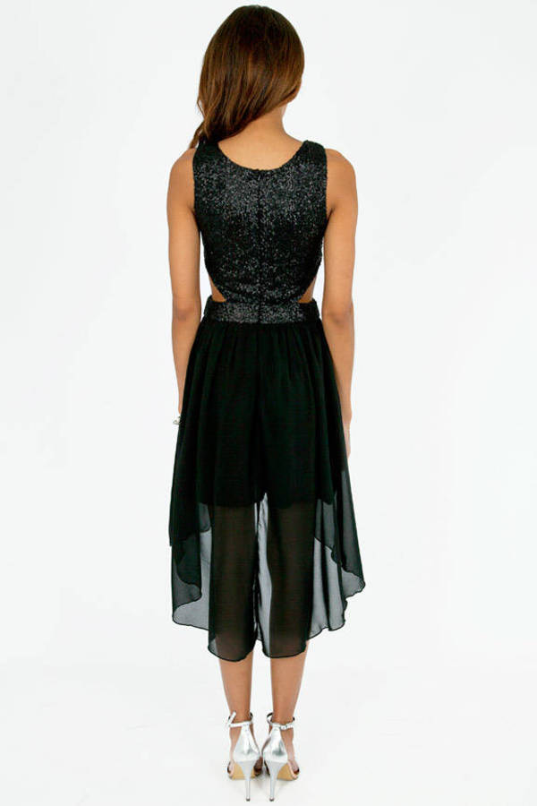 Glam Asymmetric Dress