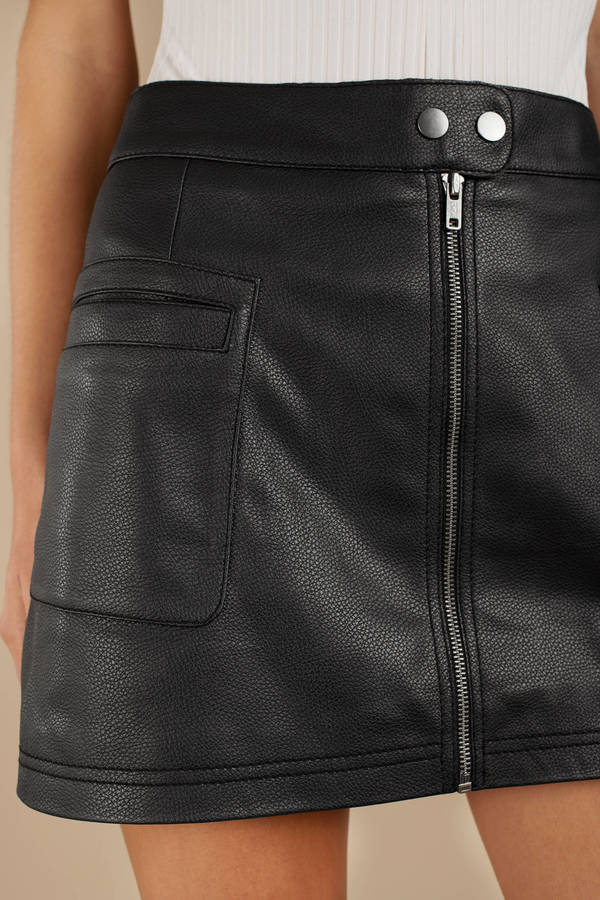 elegant shoes clearance sale full range of specifications High A-Line Vegan Skirt