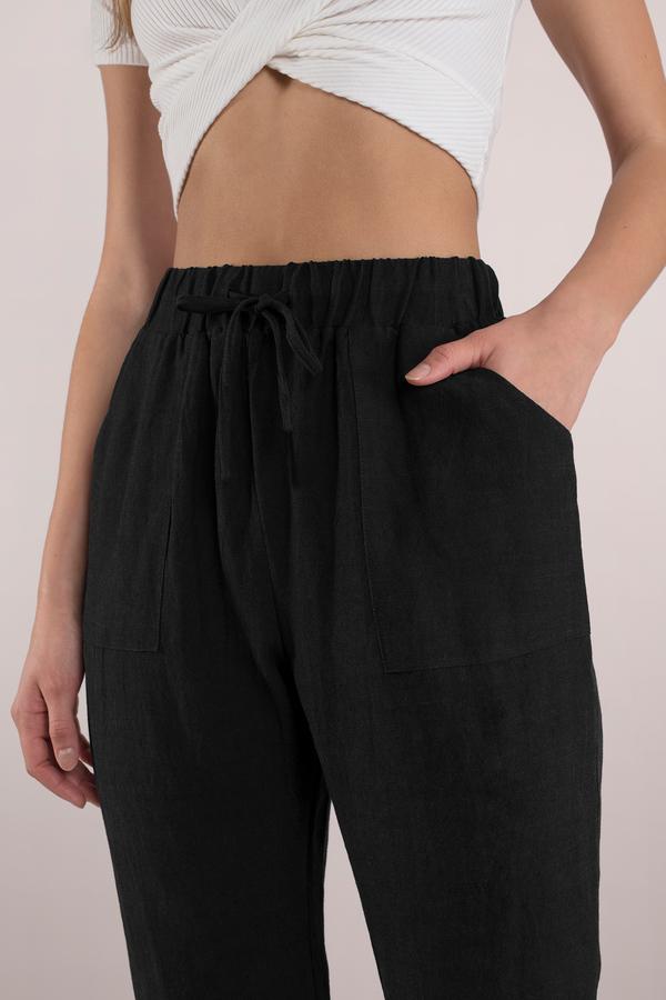 Cute Black Pants - Dressy Pants - Black Pants - $58.00