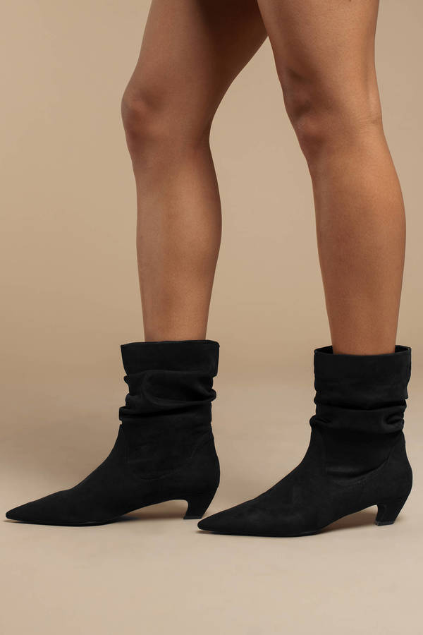 ba3bf22ab8c Heeled Booties | Ankle Boots With Heels, Black Heel Boots | Tobi