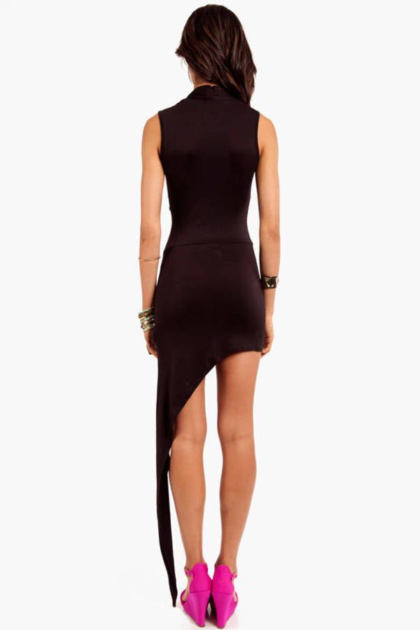 Jessa Asymmetric Wrap Dress