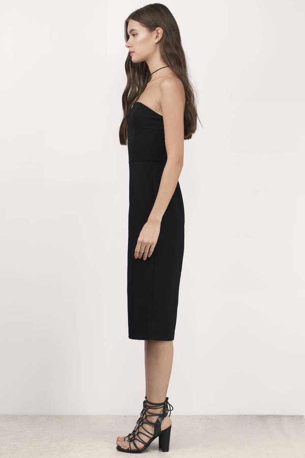 Cheap Black Jumpsuit - Wide Leg Jumpsuit - $19.00