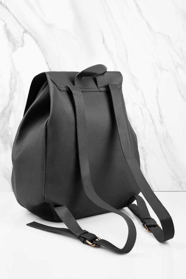 Justine Black Backpack - $54 | Tobi