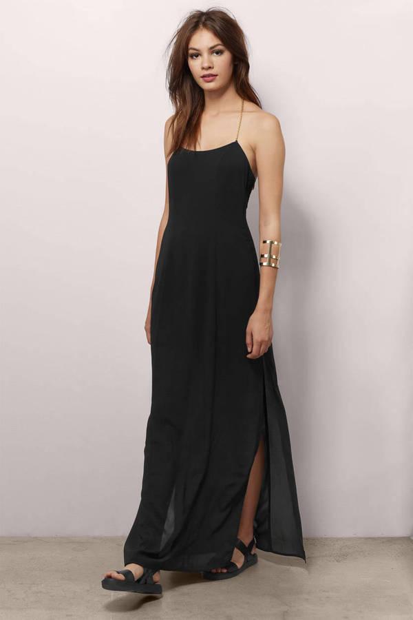 Cheap Black Maxi Dress Sleeveless Dress Maxi Dress 13 Tobi Us