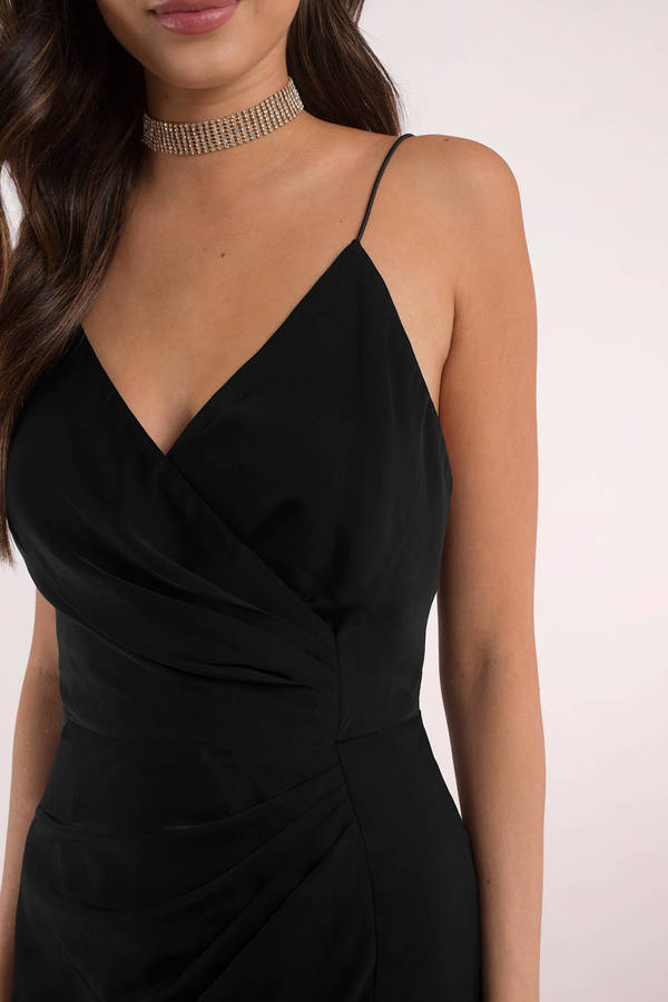 black coctail dress