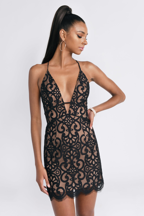 01497000ae ... Tobi Backless Bodycon Dresses, Black, Kristen Lace Bodycon Dress, Tobi.  Quick View