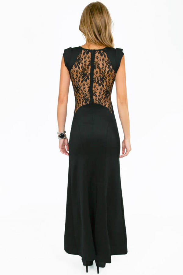 Laced Out Maxi Dress