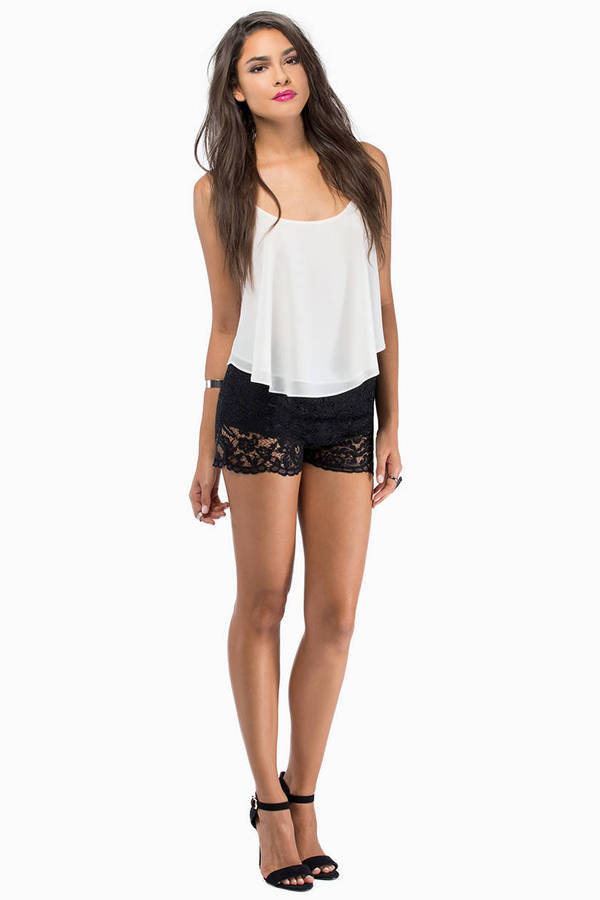 Lilliana Lace Shorts