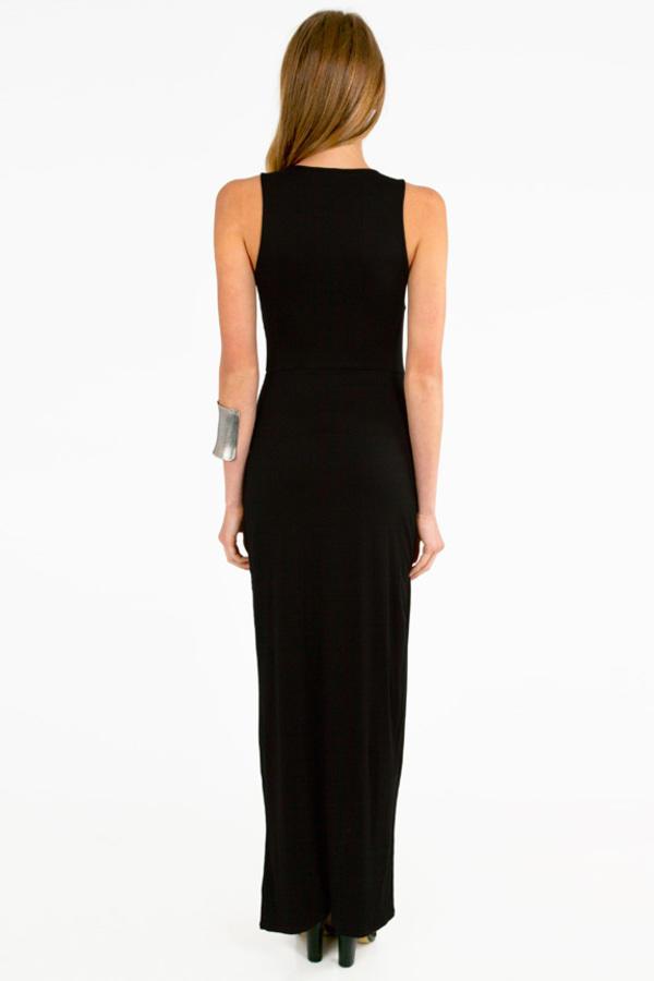 Maxine Zipped  Maxi Dress