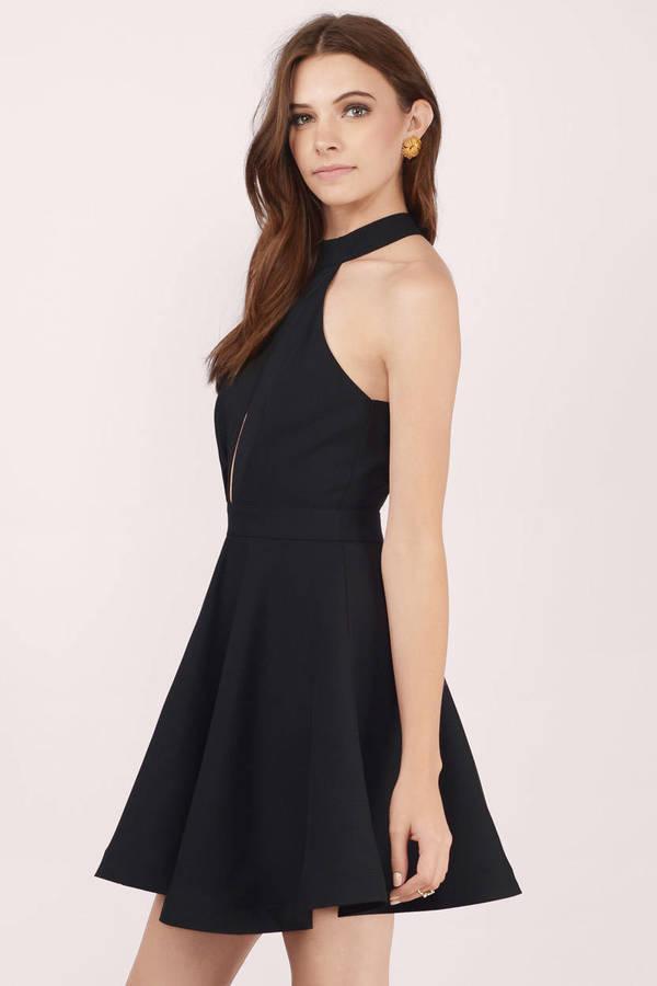 d030e461d5 Midnight Lover Black Skater Dress Midnight Lover Black Skater Dress ...