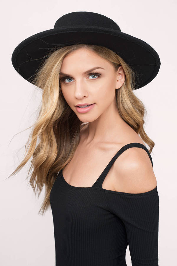 Cute Black Hat - Boho Hat - Forest Black Hat - Panama Hat - kr 169 ... 9679fcf3a66