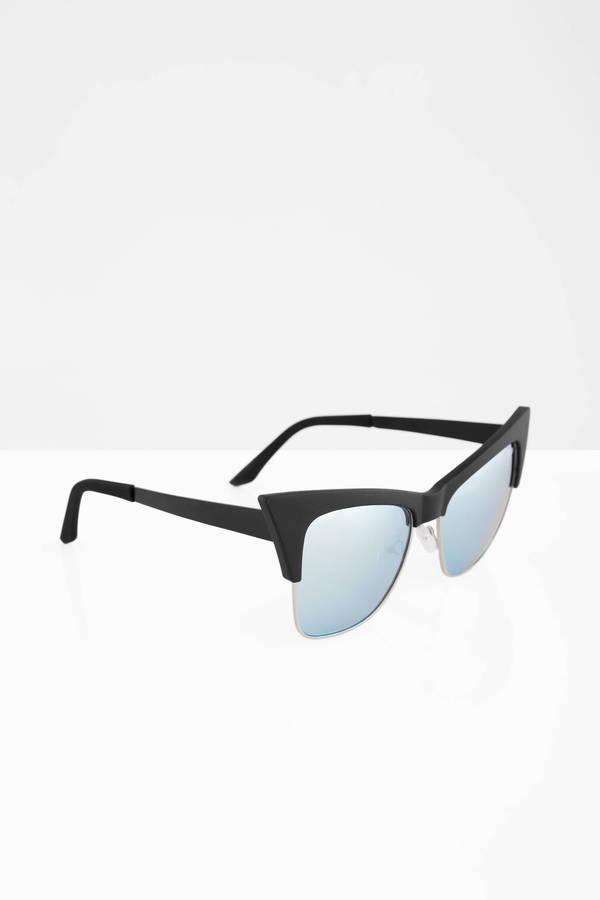 c07990025bc05 ... QUAY Quay Tysm Black   Mint Sunglasses
