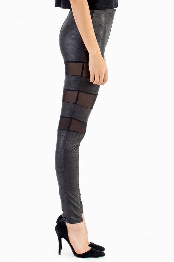 Mix and Mesh Leggings