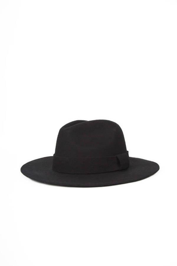 Oversized Wool Fedora Hat