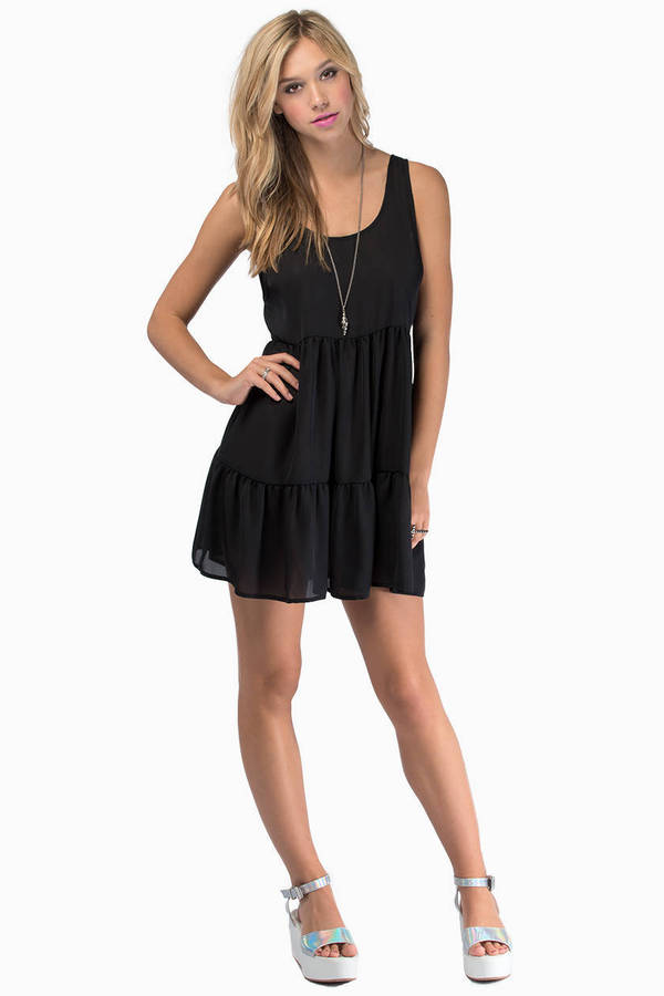 Raina Ruffled Tier Dress