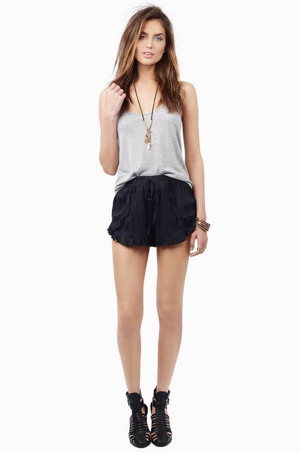 Rustled Shorts