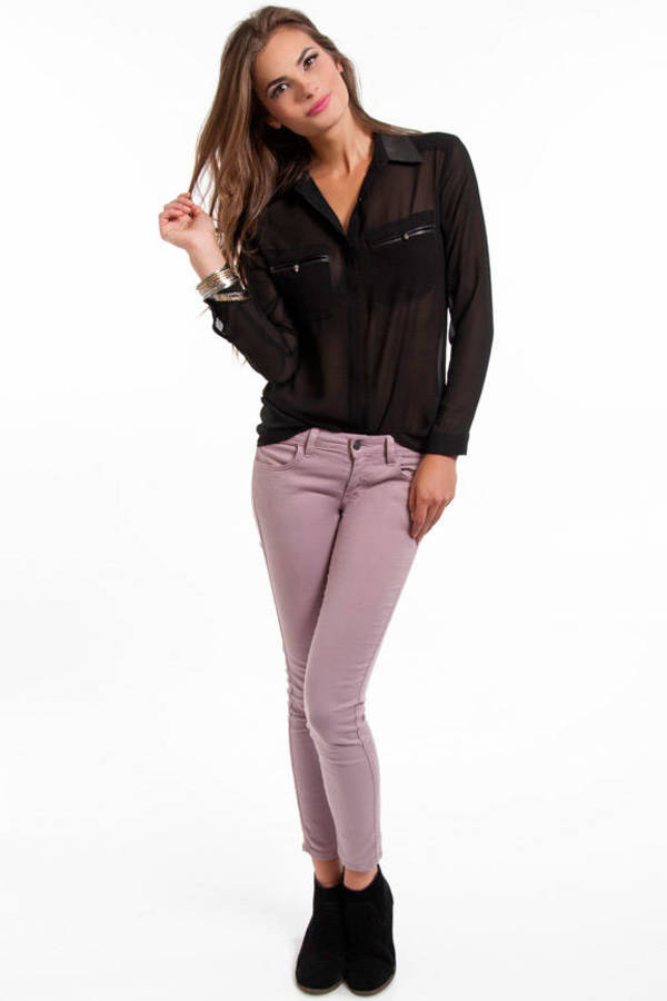 Shady Lanes Button Up Blouse