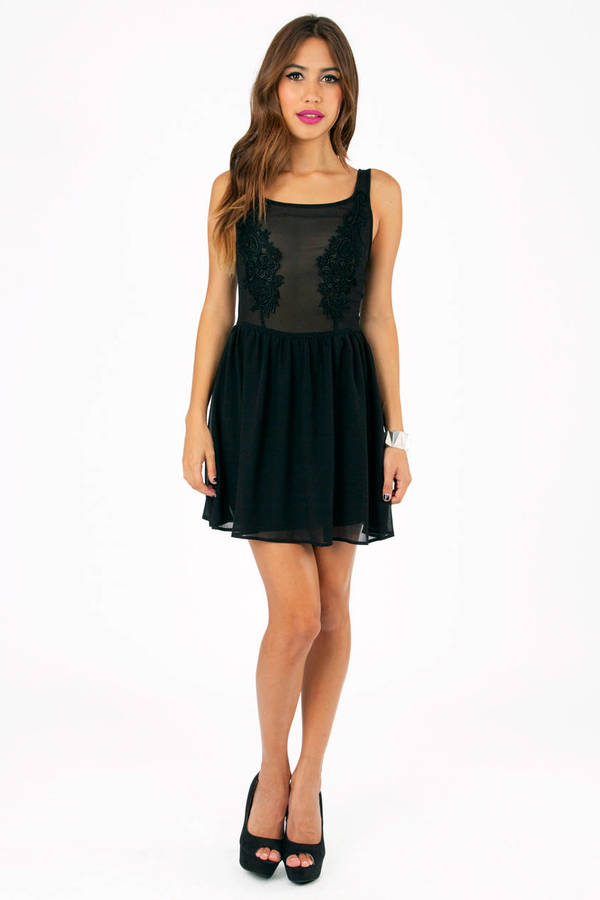 Shayna Sheer Babydoll Dress