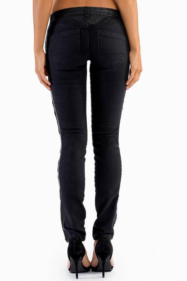 Blank Smash Moto Skinny Jeans