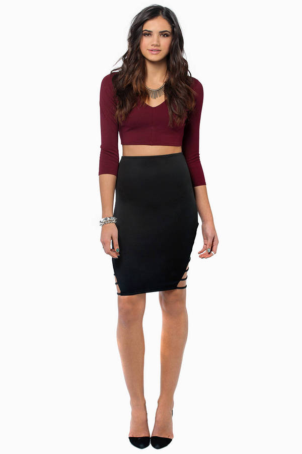 Stand Alone Midi Skirt