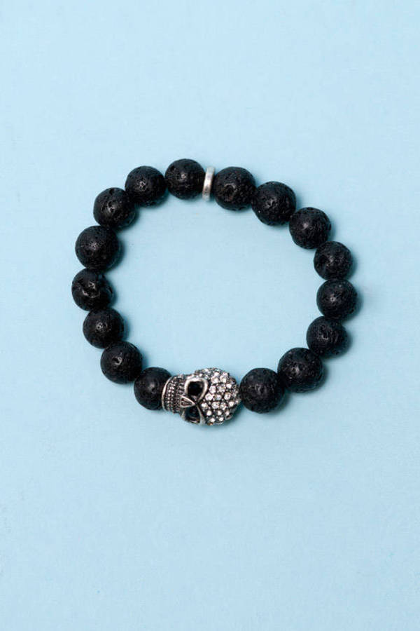 Stones and Skulls Bracelet