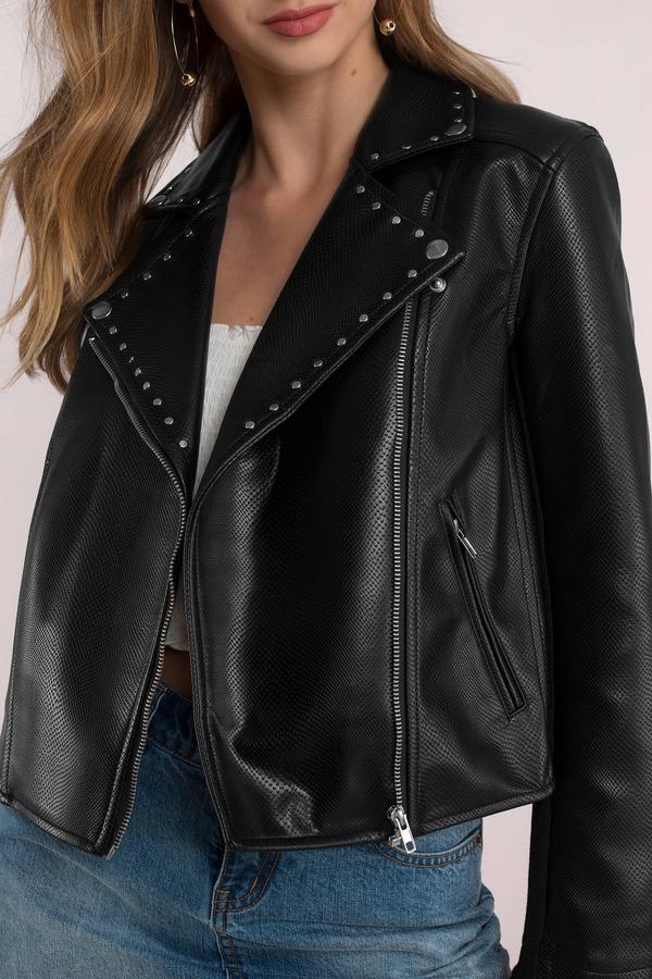 824c1968e Leather Jackets | Black Leather Jacket For Women | Tobi CA