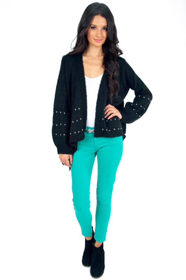 Studs To Be You Knit Cardigan