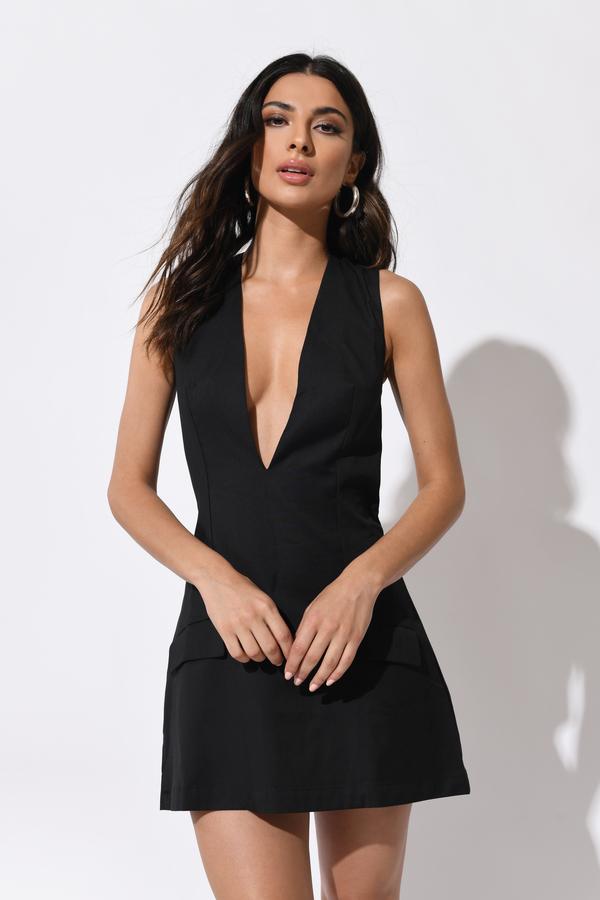 96fa96ce5beb8c Trendy Black Shift Dress - Suspender Dress - Shift Dress - € 13 ...